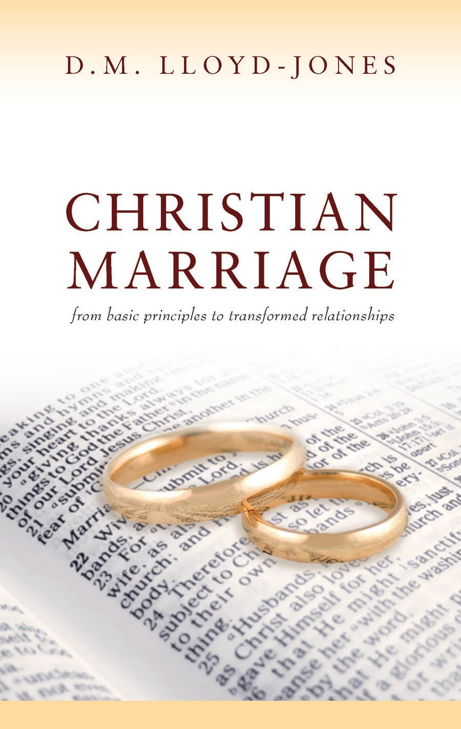christian marriage Question: what should be different about a christian marriage answer: the primary difference between a christian marriage and a non-christian marriage is that christ is the center of the marriage when two people are united in christ, their goal is to grow in christlikeness throughout the life of the marriage.