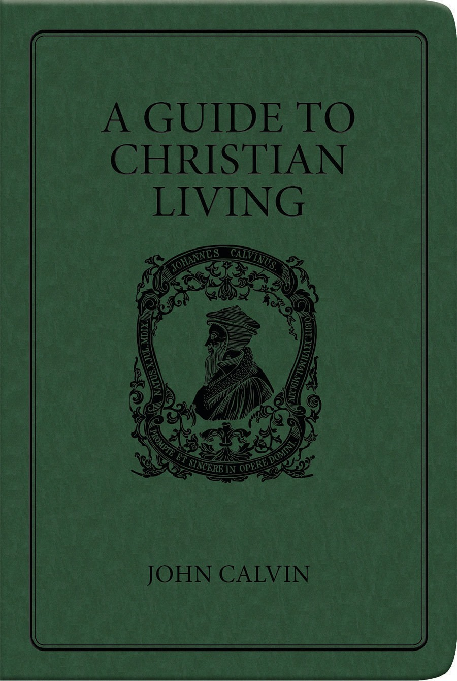 Book Cover For A Guide To Christian Living